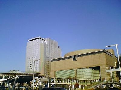 2007NHK名古屋ビルと愛知県芸術文化センターとオアシス21.jpg