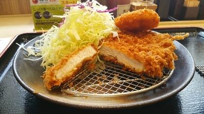 松乃家ロースカツプラスコロッケ定食 2.jpg